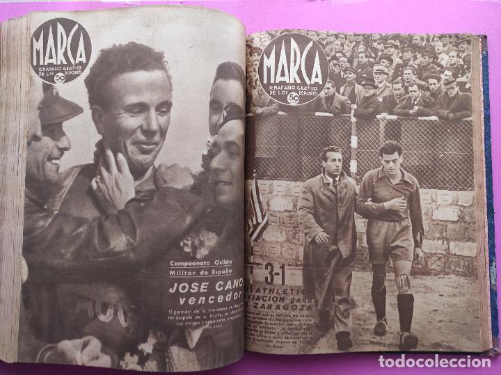 Coleccionismo deportivo: TOMO 53 SEMANARIOS MARCA Nº 48-100 ATLETICO AVIACION CAMPEON LIGA 39/40 RCD ESPAÑOL COPA 1939/1940 - Foto 48 - 240036210