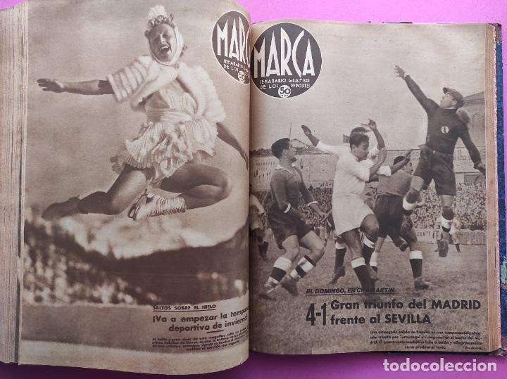 Coleccionismo deportivo: TOMO 53 SEMANARIOS MARCA Nº 48-100 ATLETICO AVIACION CAMPEON LIGA 39/40 RCD ESPAÑOL COPA 1939/1940 - Foto 49 - 240036210