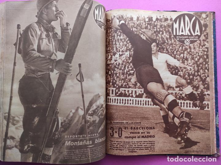 Coleccionismo deportivo: TOMO 53 SEMANARIOS MARCA Nº 48-100 ATLETICO AVIACION CAMPEON LIGA 39/40 RCD ESPAÑOL COPA 1939/1940 - Foto 51 - 240036210