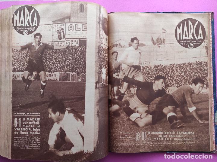 Coleccionismo deportivo: TOMO 53 SEMANARIOS MARCA Nº 48-100 ATLETICO AVIACION CAMPEON LIGA 39/40 RCD ESPAÑOL COPA 1939/1940 - Foto 53 - 240036210