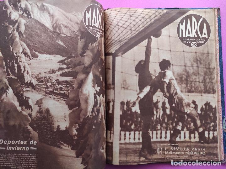 Coleccionismo deportivo: TOMO 53 SEMANARIOS MARCA Nº 48-100 ATLETICO AVIACION CAMPEON LIGA 39/40 RCD ESPAÑOL COPA 1939/1940 - Foto 54 - 240036210