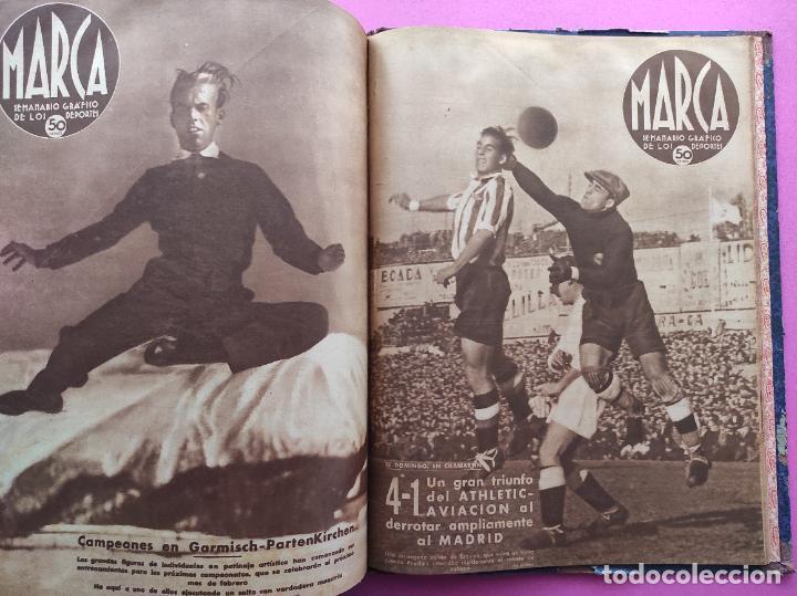 Coleccionismo deportivo: TOMO 53 SEMANARIOS MARCA Nº 48-100 ATLETICO AVIACION CAMPEON LIGA 39/40 RCD ESPAÑOL COPA 1939/1940 - Foto 55 - 240036210