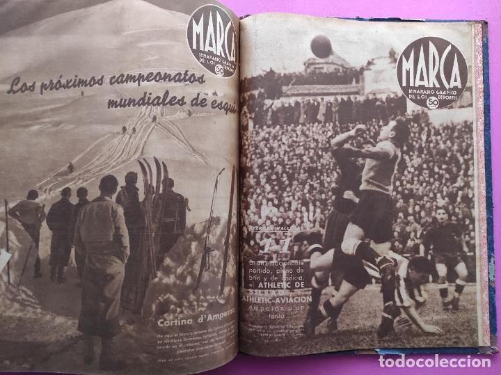 Coleccionismo deportivo: TOMO 53 SEMANARIOS MARCA Nº 48-100 ATLETICO AVIACION CAMPEON LIGA 39/40 RCD ESPAÑOL COPA 1939/1940 - Foto 56 - 240036210