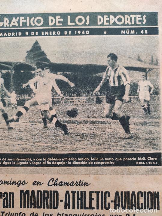 Coleccionismo deportivo: TOMO 53 SEMANARIOS MARCA Nº 48-100 ATLETICO AVIACION CAMPEON LIGA 39/40 RCD ESPAÑOL COPA 1939/1940 - Foto 57 - 240036210