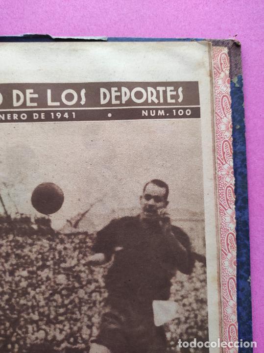 Coleccionismo deportivo: TOMO 53 SEMANARIOS MARCA Nº 48-100 ATLETICO AVIACION CAMPEON LIGA 39/40 RCD ESPAÑOL COPA 1939/1940 - Foto 58 - 240036210