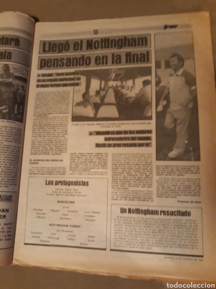 Coleccionismo deportivo: SPORT 23 AGOSTO 1983 . DIARIO DEL GAMPER - ESTRENO BARCA 84 - JULIO IGLESIAS AMIGO DE MARADONA. - Foto 4 - 240255555