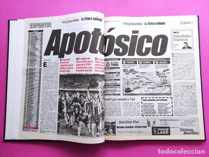 Coleccionismo deportivo: TOMO MUNDO DEPORTIVO RCD ESPANYOL CAMPEON COPA DEL REY TEMPORADA 99/00 ESPAÑOL 1999 2000 CENTENARIO - Foto 2 - 240327760