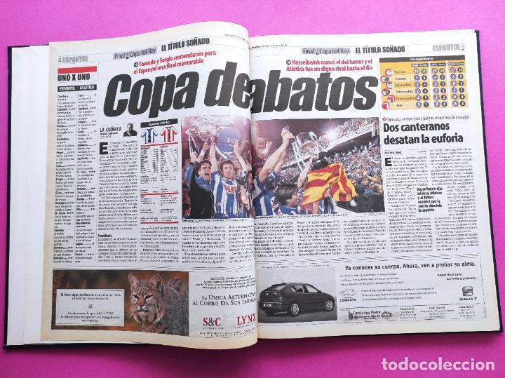 Coleccionismo deportivo: TOMO MUNDO DEPORTIVO RCD ESPANYOL CAMPEON COPA DEL REY TEMPORADA 99/00 ESPAÑOL 1999 2000 CENTENARIO - Foto 3 - 240327760