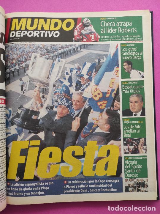 Coleccionismo deportivo: TOMO MUNDO DEPORTIVO RCD ESPANYOL CAMPEON COPA DEL REY TEMPORADA 99/00 ESPAÑOL 1999 2000 CENTENARIO - Foto 4 - 240327760