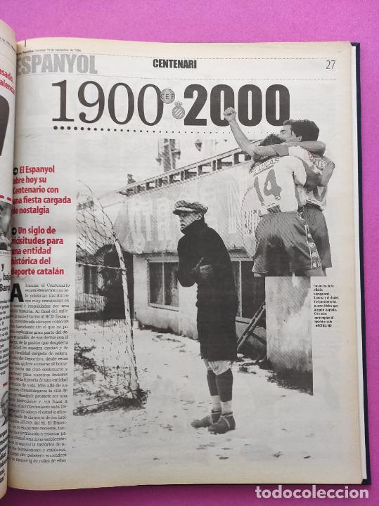 Coleccionismo deportivo: TOMO MUNDO DEPORTIVO RCD ESPANYOL CAMPEON COPA DEL REY TEMPORADA 99/00 ESPAÑOL 1999 2000 CENTENARIO - Foto 7 - 240327760