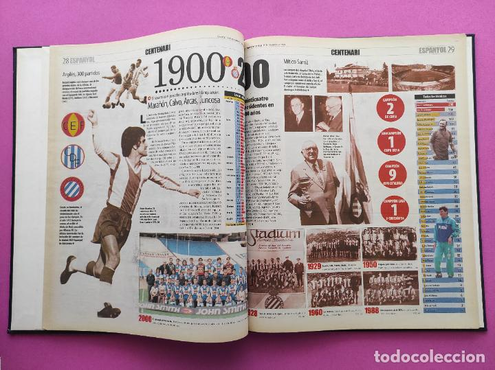 Coleccionismo deportivo: TOMO MUNDO DEPORTIVO RCD ESPANYOL CAMPEON COPA DEL REY TEMPORADA 99/00 ESPAÑOL 1999 2000 CENTENARIO - Foto 8 - 240327760
