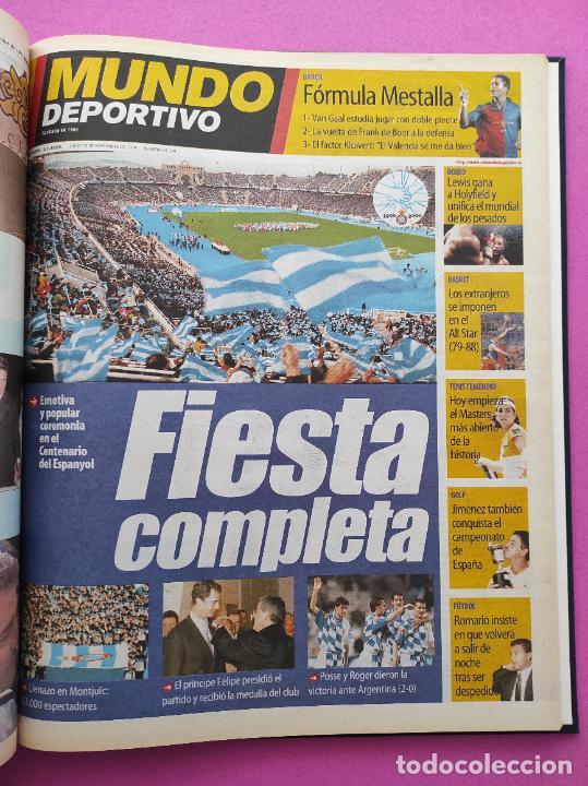 Coleccionismo deportivo: TOMO MUNDO DEPORTIVO RCD ESPANYOL CAMPEON COPA DEL REY TEMPORADA 99/00 ESPAÑOL 1999 2000 CENTENARIO - Foto 9 - 240327760