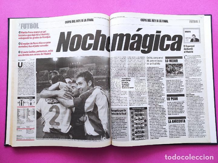 Coleccionismo deportivo: TOMO MUNDO DEPORTIVO RCD ESPANYOL CAMPEON COPA DEL REY TEMPORADA 99/00 ESPAÑOL 1999 2000 CENTENARIO - Foto 11 - 240327760