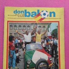 Coleccionismo deportivo: REVISTA DON BALON Nº 354 ITALIA CAMPEON MUNDIAL ESPAÑA 82 ESPECIAL RESUMEN WORLD CUP WC 1982 POSTER. Lote 240470900