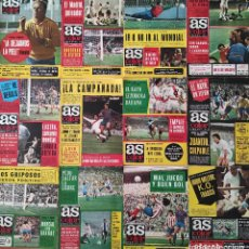 Coleccionismo deportivo: LOTE 12 REVISTA AS COLOR Nº 336-340-341-342-344-347-348-349-350-351-352-353 SUPLEMENTO MOTOR. Lote 240473120