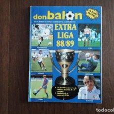 Coleccionismo deportivo: REVISTA DON BALÓN, EXTRA Nº 16, LIGA 88/89. Lote 240541950