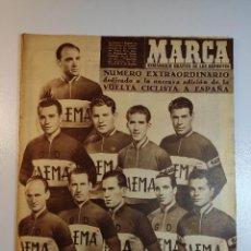 Coleccionismo deportivo: MARCA AÑO 1956 VUELTA CICLISTA A ESPAÑA NUMERO EXTRAORDINARIO. Lote 240545990