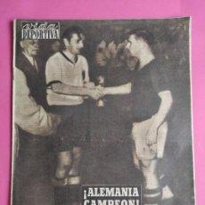 Collectionnisme sportif: VIDA DEPORTIVA Nº 459 1954 ALEMANIA CAMPEON COPA MUNDO SUIZA 54 - WORLD CUP GERMANY WINNER. Lote 240970550