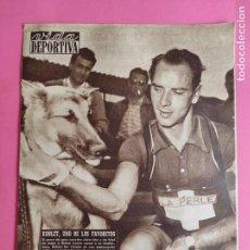 Coleccionismo deportivo: VIDA DEPORTIVA Nº 461 1954 TOUR DE FRANCIA 54 KOBLET - CALENDARIO LIGA 54/55 - MOLOWNY - ATLETISMO. Lote 240970625