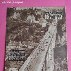 Coleccionismo deportivo: VIDA DEPORTIVA Nº 462 1954 TOUR DE FRANCIA 54 - CAMPEONATOS CATALUÑA ATLETISMO. Lote 240970780