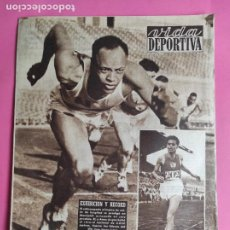 Coleccionismo deportivo: VIDA DEPORTIVA Nº 464 1954 DEPORTIVO ALAVES - TOUR FRANCIA 54 - WATERPOLO. Lote 240971335