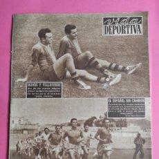 Coleccionismo deportivo: VIDA DEPORTIVA Nº 466 1954 REAL SOCIEDAD SEVILLA VALENCIA PRETEMPORADA LIGA 53/54 HOSPITALET. Lote 240971470