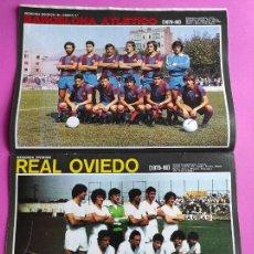 Coleccionismo deportivo: REVISTA AS COLOR Nº 439 MINI POSTER REAL OVIEDO 79/80 BARÇA B BARCELONA ATLETICO 1979/1980 - RINCON. Lote 240974320