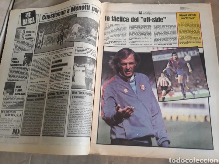 Coleccionismo deportivo: SPORT 7 SEPTIEMBRE 1983 .JULIO IGLESIAS Y MARADONA : DUO TRIOMFANT -JUEGOS MEDITERRÁNEO LAURA MUÑOZ - Foto 5 - 241025355