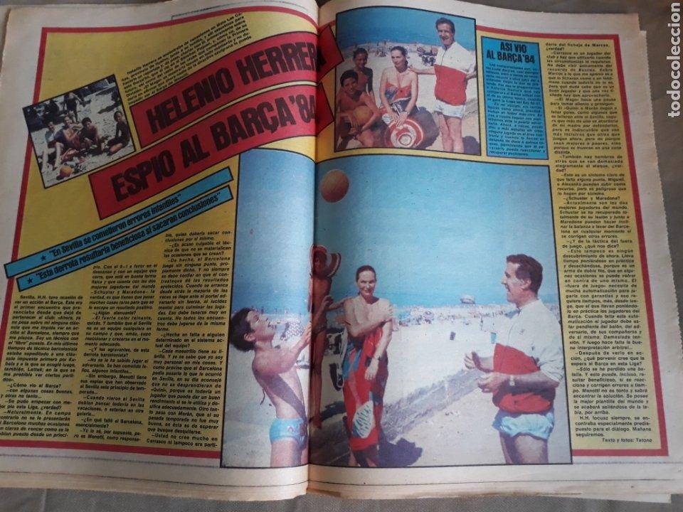 Coleccionismo deportivo: SPORT 7 SEPTIEMBRE 1983 .JULIO IGLESIAS Y MARADONA : DUO TRIOMFANT -JUEGOS MEDITERRÁNEO LAURA MUÑOZ - Foto 6 - 241025355