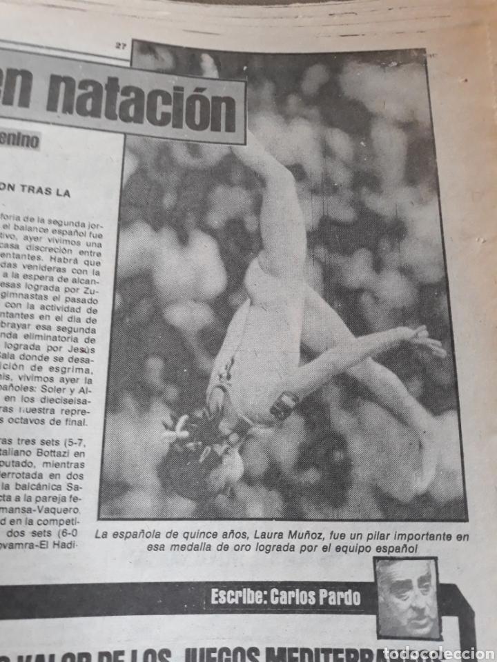 Coleccionismo deportivo: SPORT 7 SEPTIEMBRE 1983 .JULIO IGLESIAS Y MARADONA : DUO TRIOMFANT -JUEGOS MEDITERRÁNEO LAURA MUÑOZ - Foto 3 - 241025355