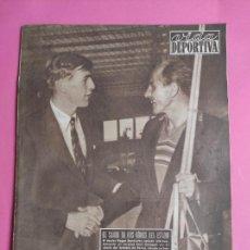 Coleccionismo deportivo: VIDA DEPORTIVA Nº 467 1954 CAMPEONATO EUROPA ATLETISMO - MALAGA - SANS-BARÇA. Lote 241027565