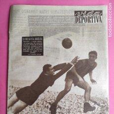 Coleccionismo deportivo: VIDA DEPORTIVA Nº 471 1954 LIGA 54/55 MADRID 7-0 UD LAS PALMAS - BARÇA 1-0 ESPAÑOL IGUALADA CALELLA. Lote 241030700
