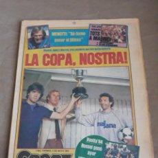 Coleccionismo deportivo: SPORT 4 DE MAYO DE 1984 - FINAL COPA DEL REY BARCELONA BILBAO. Lote 241386805