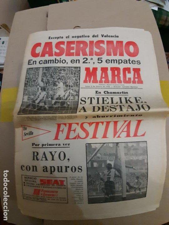 DIARIO PERIODICO MARCA 06 FEBRERO 1978 CASERISMO EN LA LIGA (Coleccionismo Deportivo - Revistas y Periódicos - Marca)