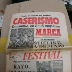 Collezionismo sportivo: DIARIO PERIODICO MARCA 06 FEBRERO 1978 CASERISMO EN LA LIGA. Lote 241476450