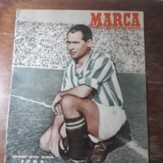 Coleccionismo deportivo: MARCA 1951 - ESPAÑOL 7 REAL MADRID 1 - AT.MADRID 2 BILBAO 0 - OVIEDO - JAEN. Lote 241842510