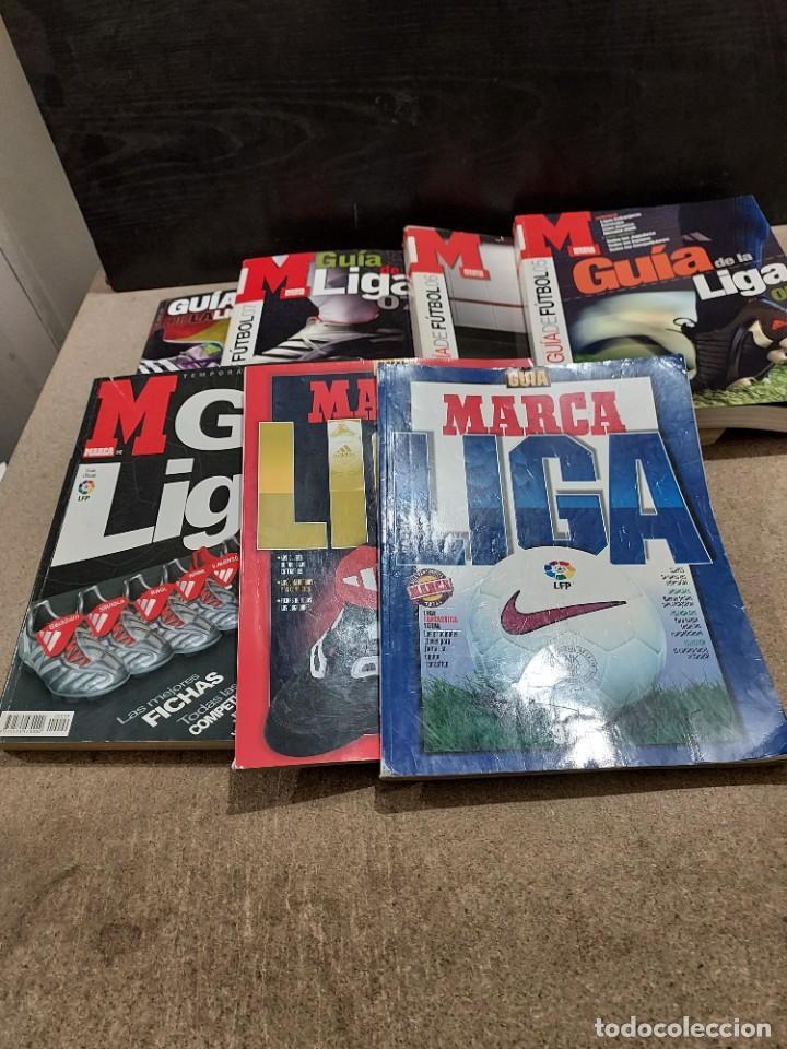 DEPORTES.....7 GUÍAS MARCA...AÑOS...97/98..98/99..04..05..06..07..11... (Coleccionismo Deportivo - Revistas y Periódicos - Marca)