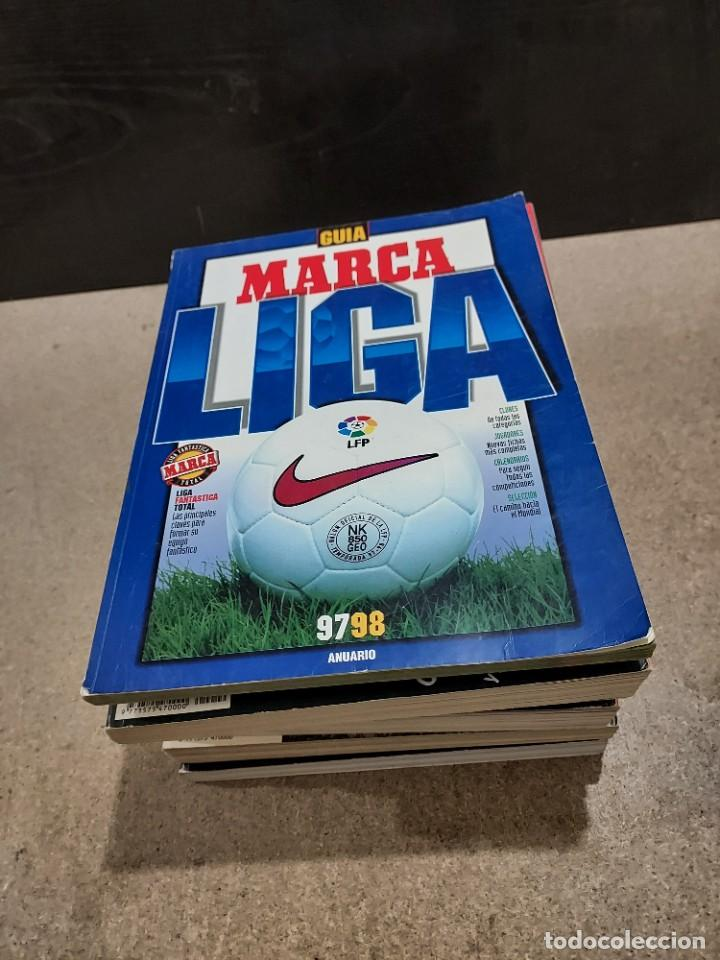 Coleccionismo deportivo: DEPORTES.....7 GUÍAS MARCA...AÑOS...97/98..98/99..04..05..06..07..11... - Foto 2 - 242070030