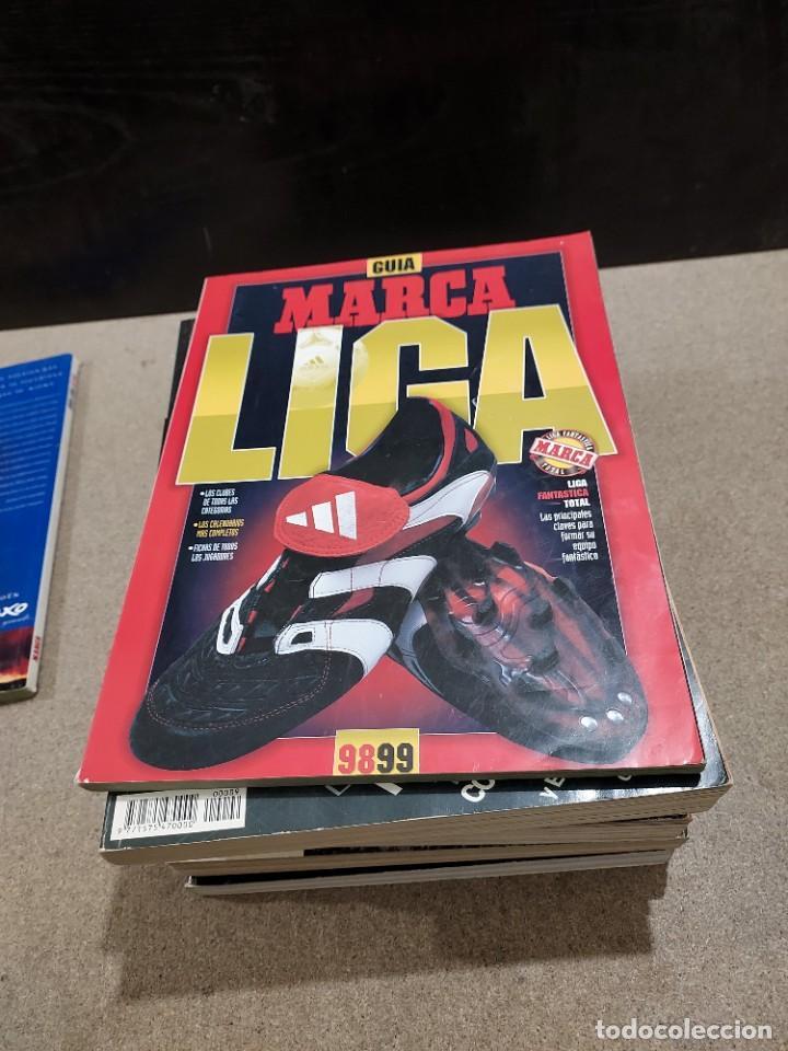 Coleccionismo deportivo: DEPORTES.....7 GUÍAS MARCA...AÑOS...97/98..98/99..04..05..06..07..11... - Foto 3 - 242070030