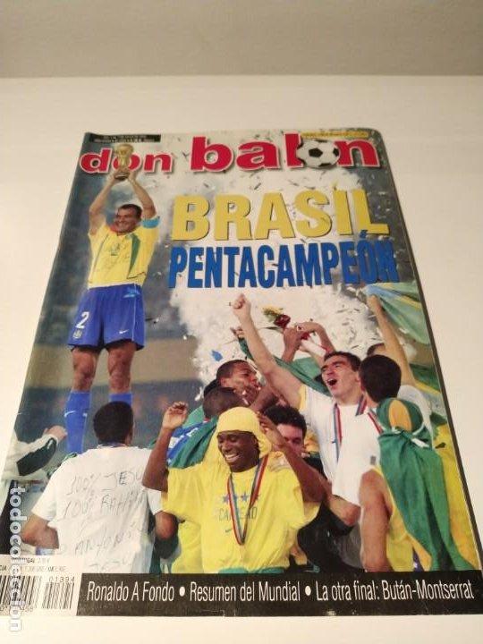 DON BALÓN MUNDIAL 2002 - DEDICATORIA CAMACHO (Coleccionismo Deportivo - Revistas y Periódicos - Don Balón)