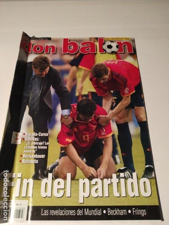 DON BALÓN MUNDIAL 2002 - ESPAÑA - COREA (Coleccionismo Deportivo - Revistas y Periódicos - Don Balón)