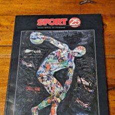 Coleccionismo deportivo: SPORT EDICIÓN 25 ANIVERSARIO. Lote 242201940