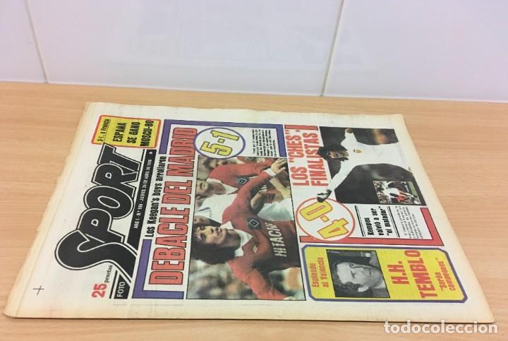 Coleccionismo deportivo: DIARIO DEPORTIVO SPORT Nº 165 - 24 ABRIL 1980 - HAMBURGO DE KEAGAN 5 A 1 AL REAL MADRID - VALENCIA - Foto 2 - 242224140