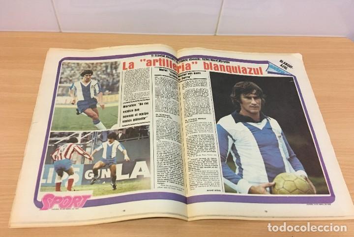 Coleccionismo deportivo: DIARIO DEPORTIVO SPORT Nº 165 - 24 ABRIL 1980 - HAMBURGO DE KEAGAN 5 A 1 AL REAL MADRID - VALENCIA - Foto 3 - 242224140