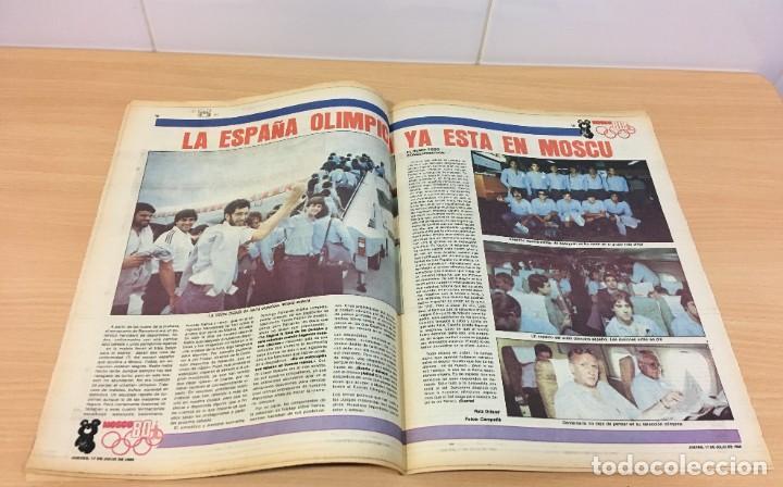 Coleccionismo deportivo: DIARIO DEPORTIVO SPORT Nº 245 - 17 JULIO 1980 - REY SAMARANCH PRESIDENTE DEL COI - Foto 3 - 242224215
