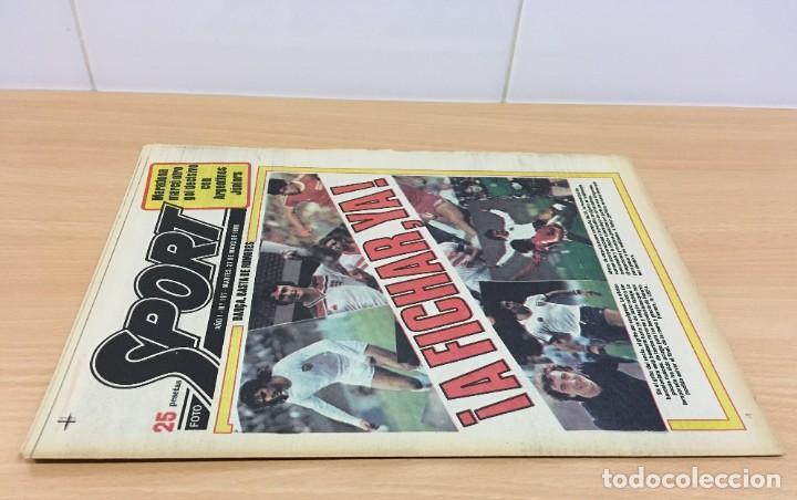 Coleccionismo deportivo: DIARIO DEPORTIVO SPORT Nº 197 - 27 MAYO 1980 - A FICHAR YA - MARADONA MARCA CON ARGENTINO JÚNIORS - Foto 2 - 242224290