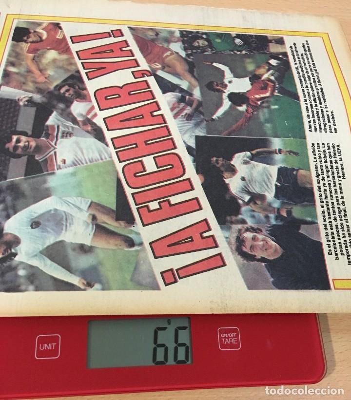 Coleccionismo deportivo: DIARIO DEPORTIVO SPORT Nº 197 - 27 MAYO 1980 - A FICHAR YA - MARADONA MARCA CON ARGENTINO JÚNIORS - Foto 5 - 242224290