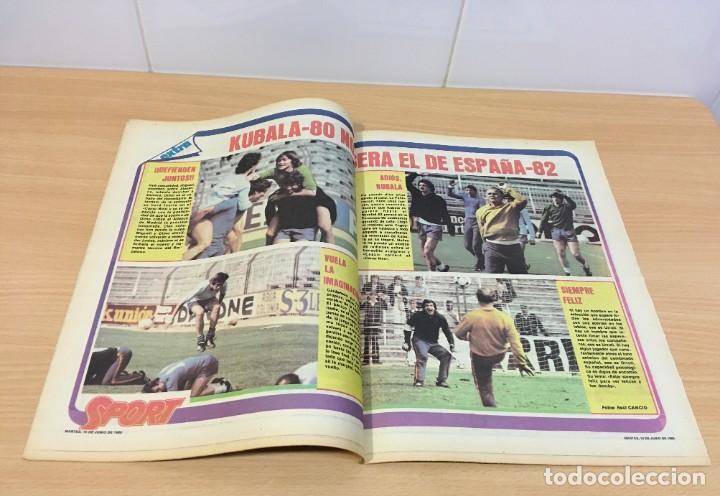 Coleccionismo deportivo: DIARIO DEPORTIVO SPORT Nº 211 - 10 JUNIO 1980 - QUINI AL FC BARCELONA - MARADONA AL CAER - Foto 3 - 242224535