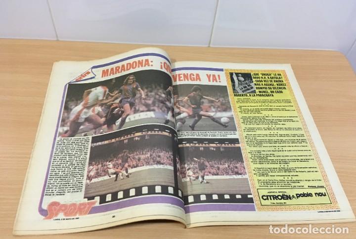 Coleccionismo deportivo: DIARIO DEPORTIVO SPORT Nº 176 - 5 MAYO 1980 - EL BARÇA YA ES 4º - MARADONA SHOW - Foto 3 - 242224615