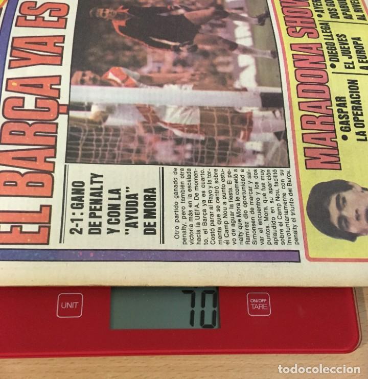 Coleccionismo deportivo: DIARIO DEPORTIVO SPORT Nº 176 - 5 MAYO 1980 - EL BARÇA YA ES 4º - MARADONA SHOW - Foto 5 - 242224615